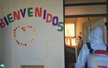 SANITIZACIÓN DE ESTABLECIMIENTOS MUNICIPALES