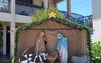 🎄Compartimos imágenes del hermoso Pesebre y el gran Árbol de Navidad realizado por la Comunidad Educativa de la Escuela Toquihua.💙